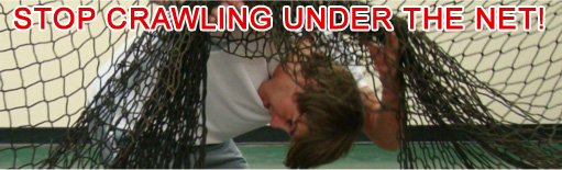 Crawling Under Batting Cage